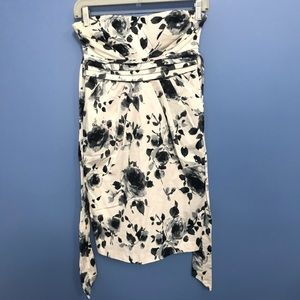 Deb Floral Strapless Dress